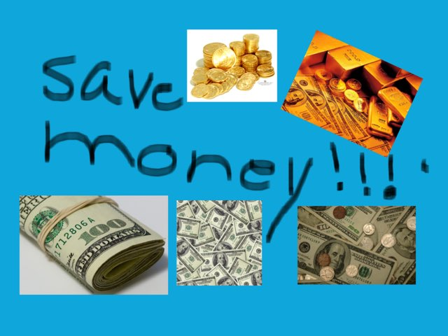 Save money  by Mrs.  Suanny