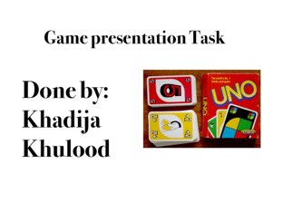 UNO Game  by Khulood Nehad