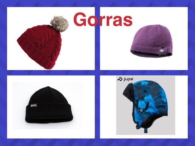 Vocabulary for winter  clothing.  by Maria Flores-Mancera
