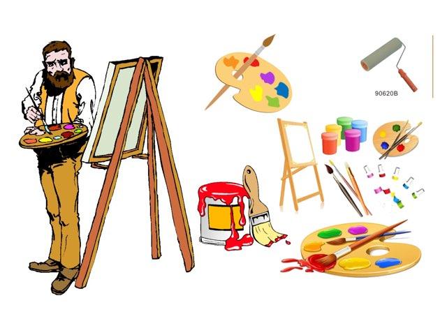 أدوات الصّباغ والرسام by Eman alrashidi