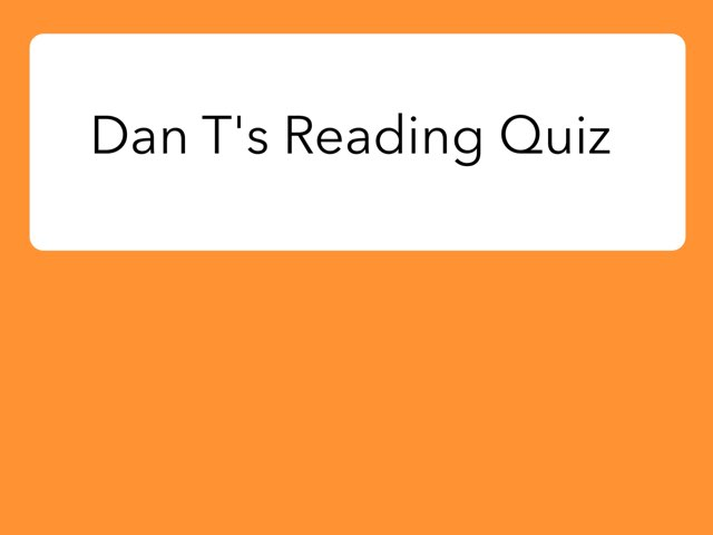 Dan T's quiz about The Sea Caves by Colin Thiele by Year Six