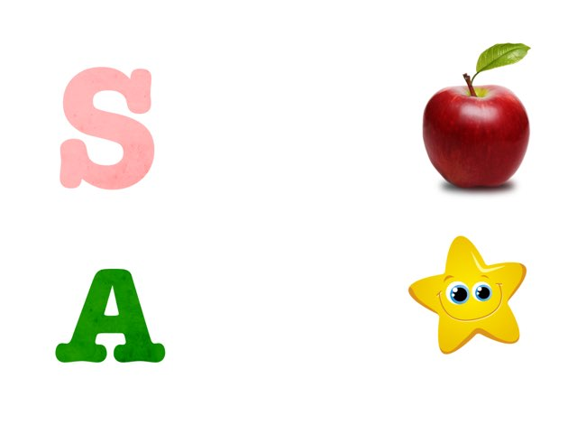 Match the picture with the letter by Safiya AlnassAr