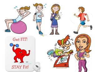 You should be healthy and stay fit. by Hanan Abdullah