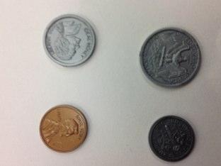 Coins by Karie Heinitz
