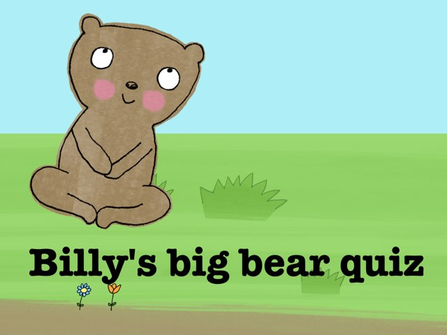 Tester quiz about bears by Jeny Plant
