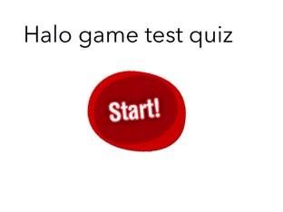 Halo facts and quiz by eddie vargas