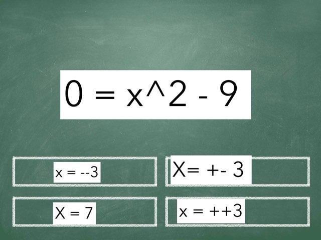Quadratic Function Game  by Gabriel hernandez