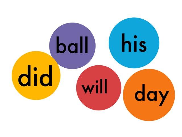 Sight words for 1st grade 1-10 by Bretta loeffler