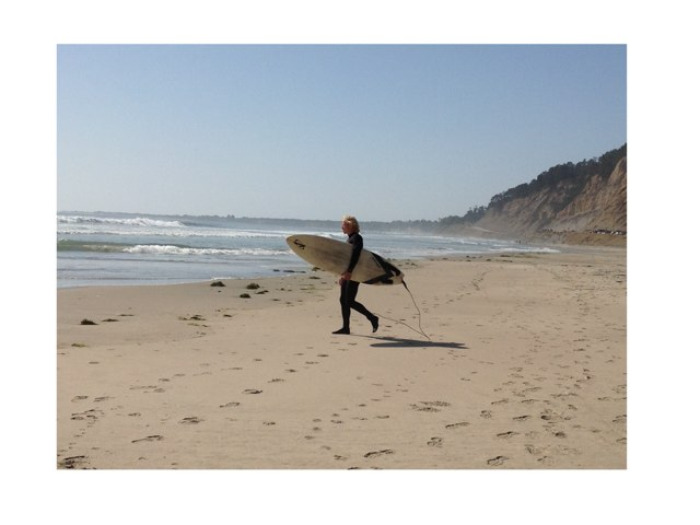 Surfer by Laurie Friedrich