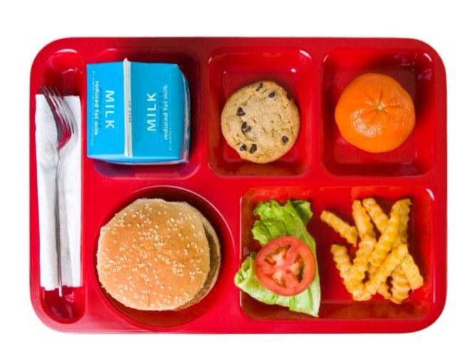 School lunch by Lois Brady
