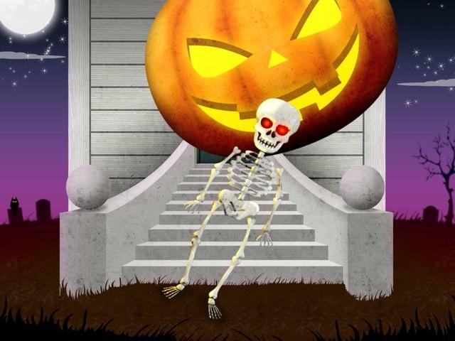 It is fun when Halloween is here by Pam Heward
