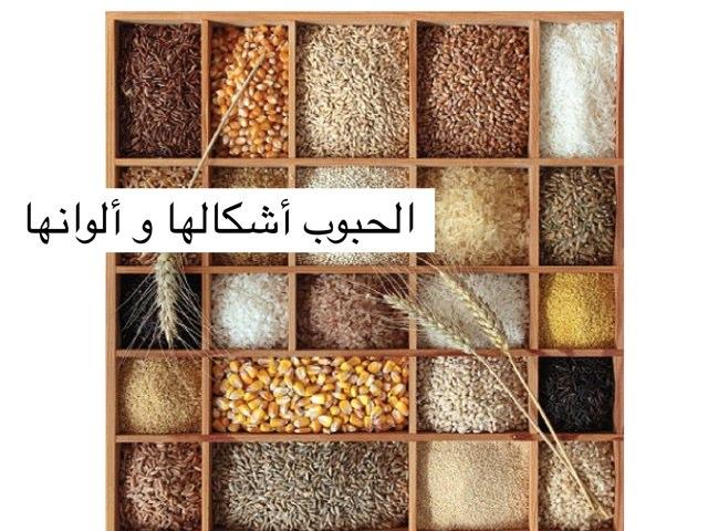 الحبوب و أشكالها و فوائدها by Dima Afifi