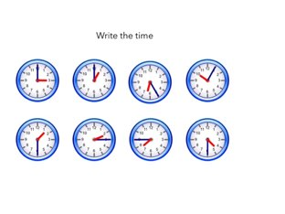 Telling time  by Jade Yeager