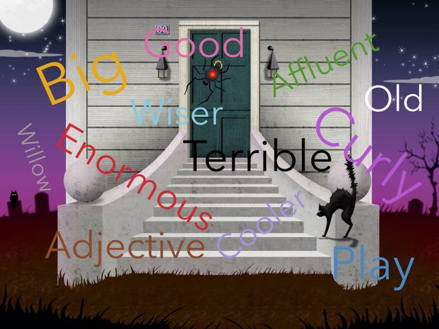 A game to learn your adjectives by Ben kenyon