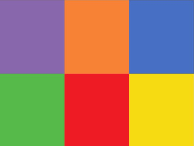 Learn basic colors in Hebrew. Find the color and click on it !!  by Morah Wilma