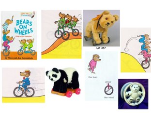 Do you like Dr Suess?  Listen carefully for the number of bears and the wheels.  Can you find the correct one? . by Gill Mcdonald