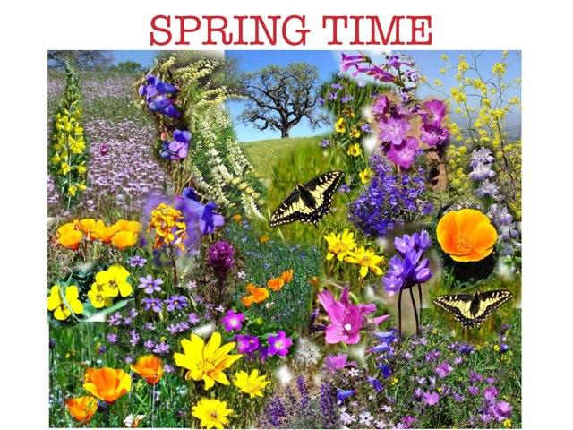 Edens Springtime by sandy kramer