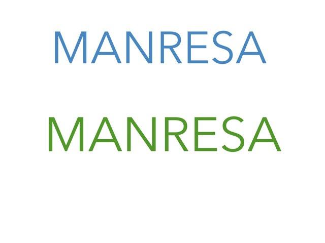 Treball projecte Manresa  by FEDAC MANRESA