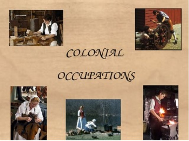 Colonial Jobs by Mary Kuebler