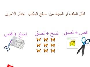 الصف السابع ،الفصل الاول ، بيئة النوافذ ٢ +التعامل مع الملفات والمجلدات ا/ليلى يوسف عياش by LooLoo Ayyash