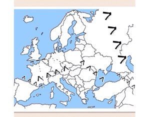 Mapping of Europe by Pat De