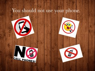 you shouldn't use your phone... by Shaikha CF3
