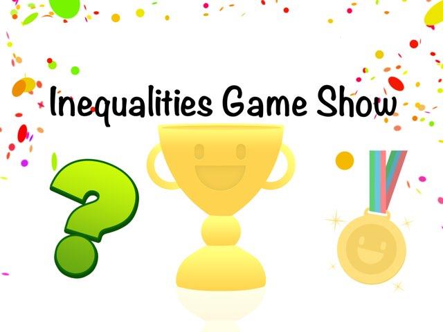 Inequalities   by Nicole Mendonca