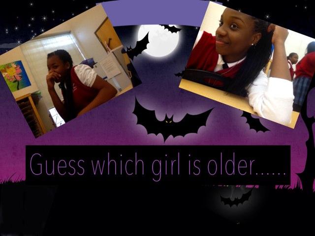 Which girl????  by Melissa Mmulert