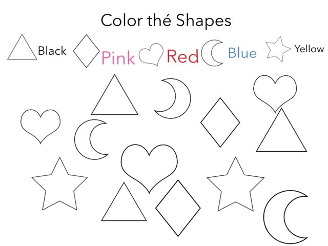 Color thé Shapes by Florence Bilbo