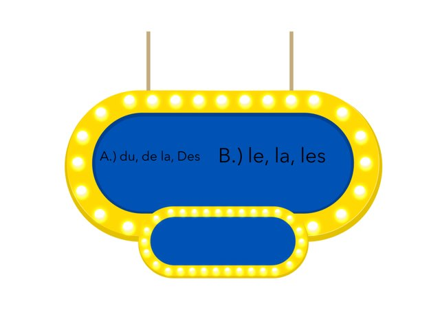 French quiz game show by Amanda Edge
