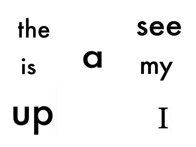 IB sight words by Alice Weston