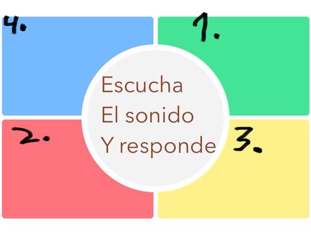 Hay que escuchar los sonidos y estan ennumerados para las preguntas siguientes by Joshua Ortiz Zuluaga