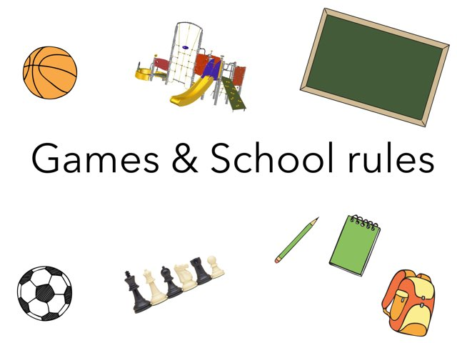 Games and School rules  by Esther Cortés Martínez