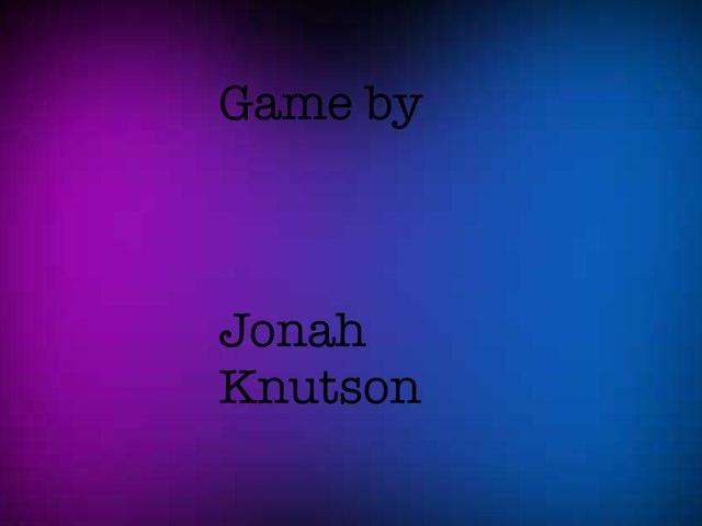 Gen. Music Game by Jonah Knutson
