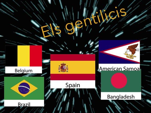 Gentilicis by Diego Campos