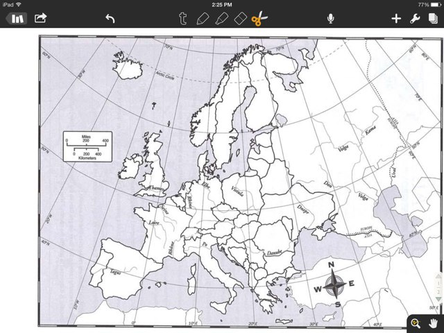 Geography Of Europe by Sadie Goldstein