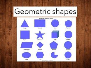 Geometric Shapes by Brooklyn Fitzgerald