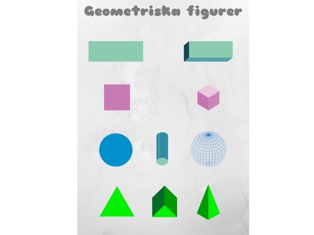 Geometriska figurer by Johan Kristoffersson