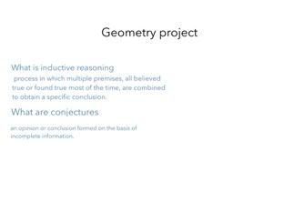Geometry Project by Ashton deruosi