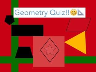 Geometry Quiz  by Trevor sheets