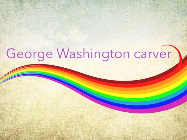 George Washington Carver by Kinsey Lindner