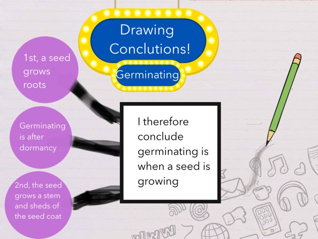 Germinating: Drawing Conclusion by Jemila Silang