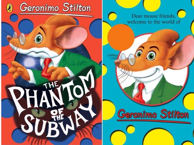 Geronimo Stilton   by Esther Cortés Martínez