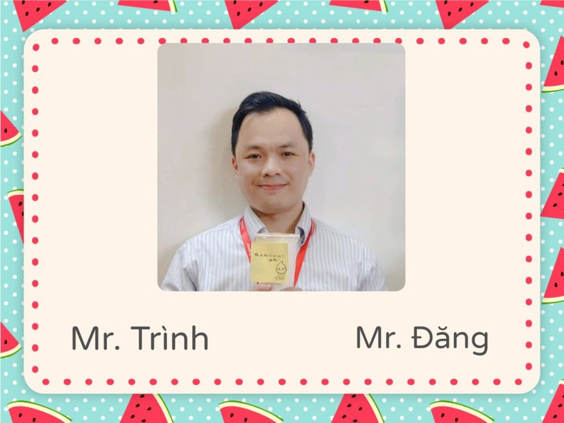 Get to know your teacher by trinh vo