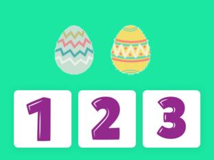 Getalsymbolen met eieren by Nicole Jager