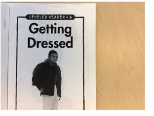 Getting Dressed Level A Book by Yvonne Malone