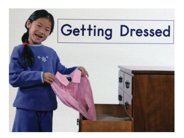 Getting Dressed Sight Words HCPSS  by Chanel Sanchez