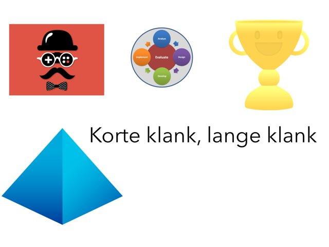 Gijs Lange Klank Korte Klank by Gijs Eidhof