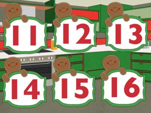 Gingerbread Number ID by Dianne Bacsik