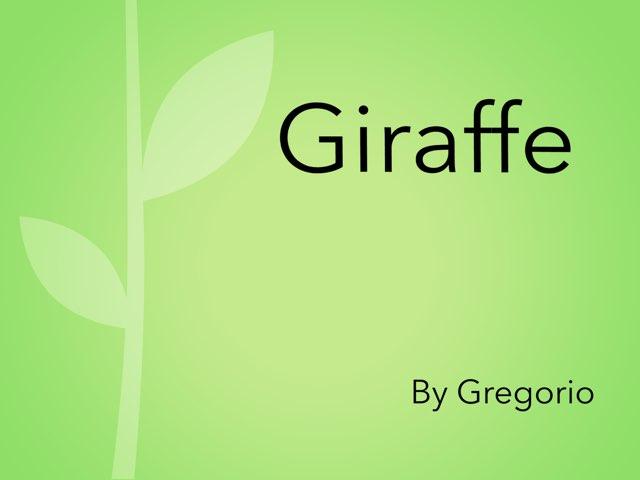 Giraffe 2 by Gregor Doleatto
